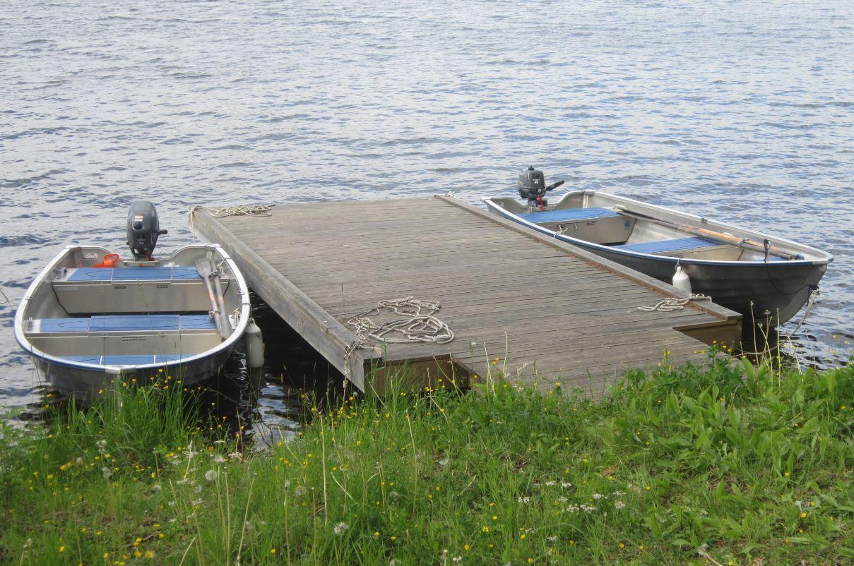 Bateaux - région Jamtland