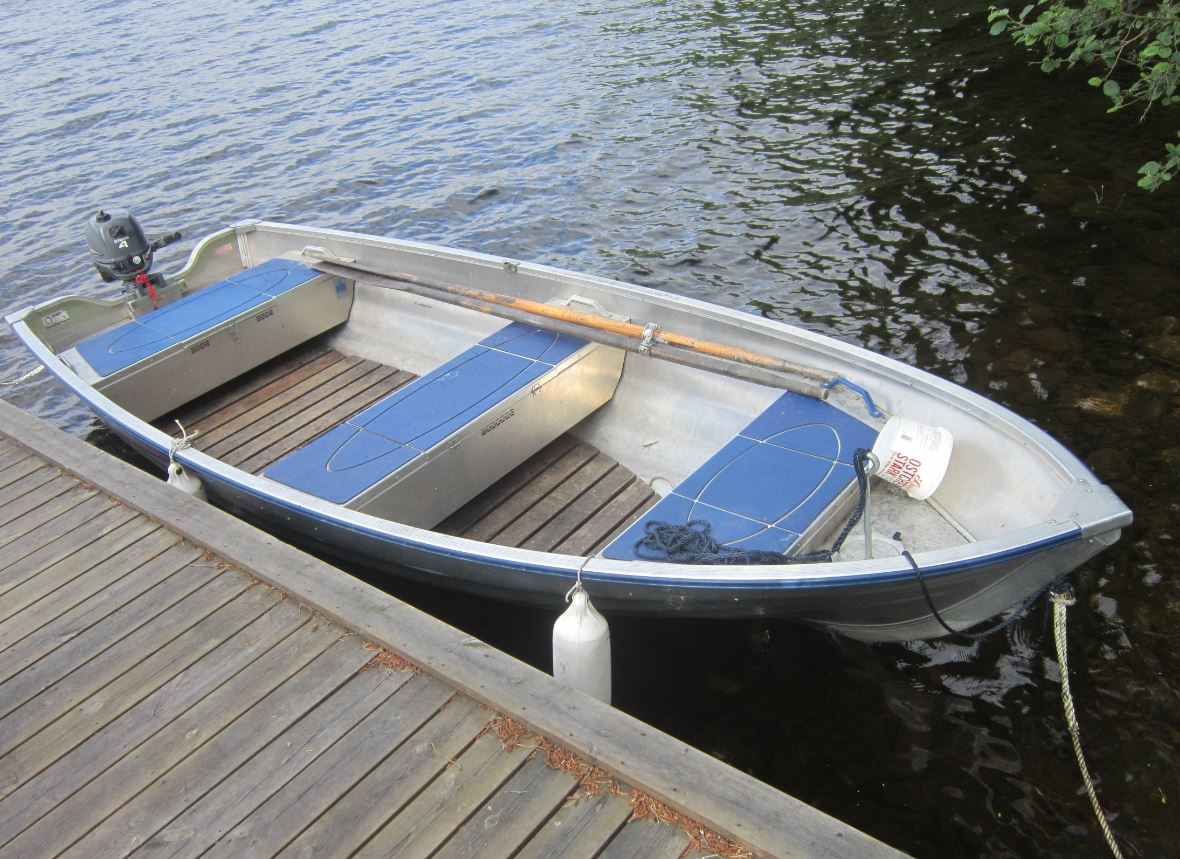 Barque alu - région Jamtland