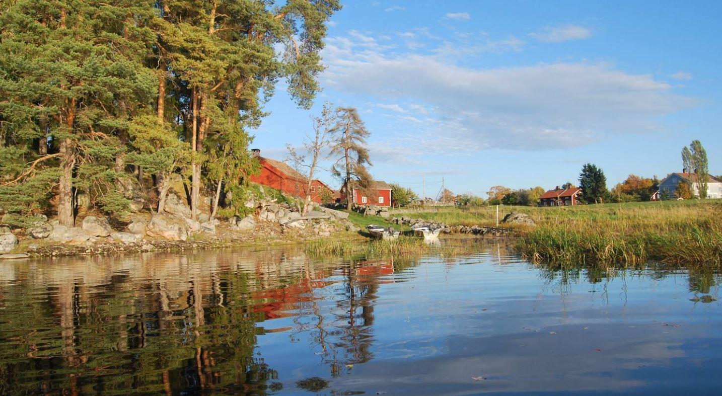 Maison camp de pêche - rivière Dalalven - région Uppsala