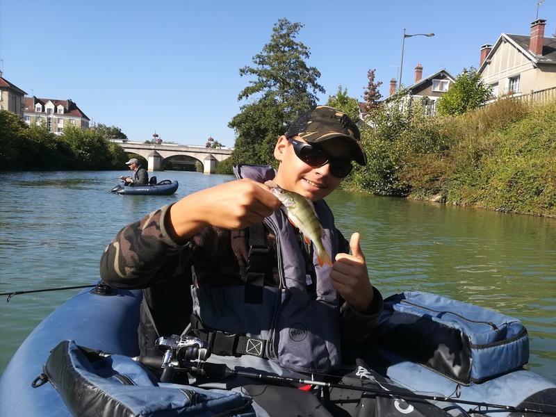 Sortie pêche float tube 4